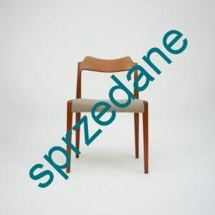 Modernistyczna, wyrafinowana linia. Pokaz duńskiego rzemiosła. Produkt lat 50-tych.
