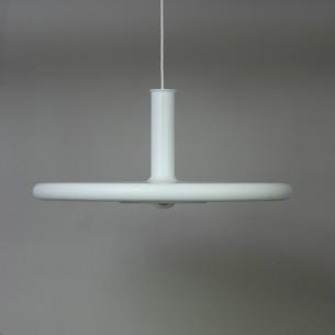 Okazała lampa Optima z wytwórni Fog & Morup. Projekt, Hans Due. Przewód w oplocie bawełnianym. Oryginalny produkt duński lat 70-tych.