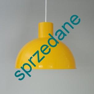 Industrialna, metalowa lampa. Wytwórnia Fog & Morup. Dania