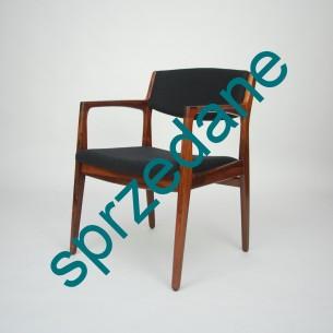 Palisandrowe krzesło Modernistyczna forma lat 60-tych. Ørum Møbelfabrik. Dania