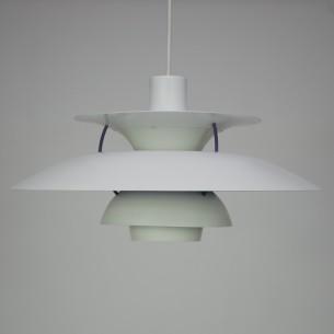 Kultowa lampa PH5. Projekt ikony duńskiego wzornictwa, POULa HENNIGSENa. Sygnowana.