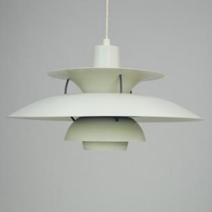 Kultowa lampa PH5. Projekt ikony duńskiego wzornictwa, POULa HENNIGSENa. Produkt współczesny. Sygnowany.