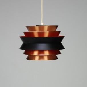 Duńska, modernistyczna lampa z aluminium. Projekt Carl Thor. Manufaktura Granhaga Metallindustri.