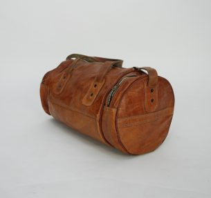 Skórzana torba na ramię.