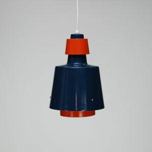 Efektowna lampa z lat 60-tych. Typowa duńska forma tamtych lat.