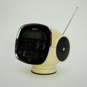 Unikatowy multiplayer z lat 70-tych. Gratka dla kolekcjonerów. Magnetofon na kasety 8-ścieżkowe bardzo popularne w Stanach Zjednoczonych w latach 60-tych. Produkt japoński.