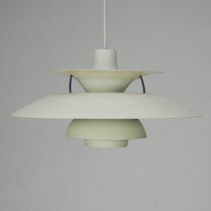 Kultowa lampa PH5. Projekt ikony duńskiego wzornictwa, POULa HENNIGSENa.