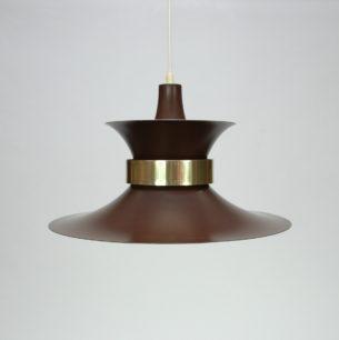 Modernistyczna lampa z wytwórni Lyskaer. Projekt lat 60-tych. Bent Nordsted.