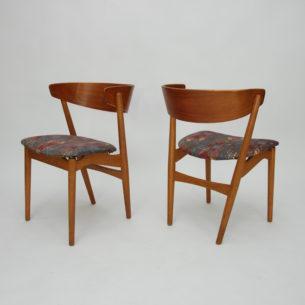 Krzesło z wytwórni Sibast. Model no 7. Projekt z 1953 roku autorstwa Helge Sibast.