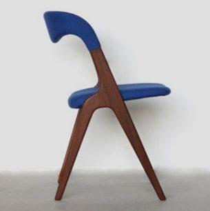 Tekowe krzesło z wytwórni Vamo Sønderborg.